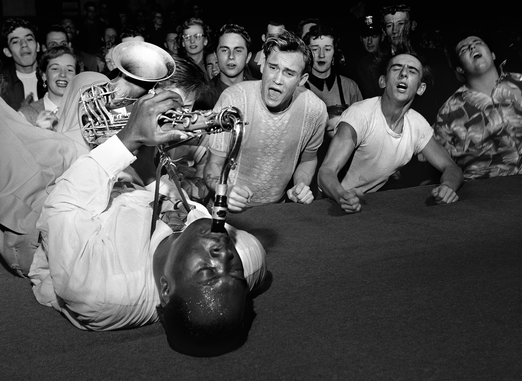 Big Jay McNeely by Bob Willoughby
