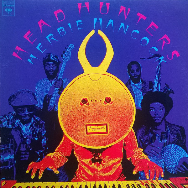 Herbie Hancock Headhunters Album Cover
